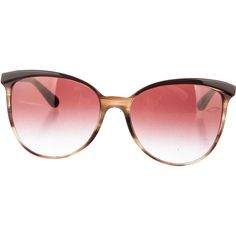 Pre-owned Oliver Peoples Ria Sunglasses ($95) ❤ liked on Polyvore