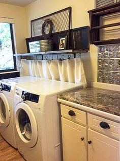 Down To Earth Style Making A Laundry Room Work Hidden Rooms Garage