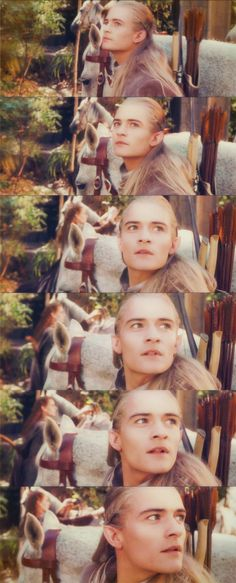 Legolas pls stop you're face is blinding me....aka the moment my life changed forever