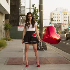 Happy Valentine's Day everybody *smiles* and no one can have the balloon its for Diego.- Meg