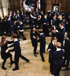 The house of Godric Gryffindor has commanded the respect of the wizarding world for nearly ten centuries. I will not have you, in one night, besmirching that name by behaving like a babbling, bumbling band of baboons!