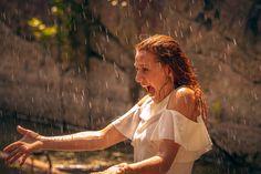 Dancing In The Rain, Father, Dance, Children, Pai, Dancing, Young Children, Boys, Kids