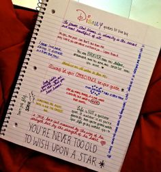 Disney quotes to live by :) by fallinlove-withdisney.tumblr.com