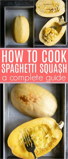 How to Cook Spaghetti Squash ways!) plus lots of other tips and tricks for cooking the best spaghetti squash ever. Risotto, Chinese Lemon Chicken, Crescent Roll Pizza, Classic Kitchen, Honey Garlic Chicken, Deep Dish, Finger Foods, Pumpkin Spice, Margarita