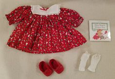 7d0a692fed198 Bitty Baby Christmas Holiday Dress Shoes Pleasant Company Retired | Dolls &  Bears, Dolls, By Brand, Company, Character | eBay!