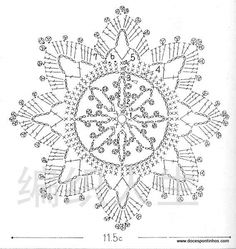 Star, Free pattern