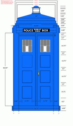 New Met box plans - first draft.   TARDIS Builders