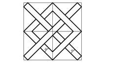 Ejercicios para el Lunes 6 de Febrero de 2017 Realizar trazo en hoja blanca; cuadrícula de 20 cm x 20 cm; distancia entre puntos 0.5 cm