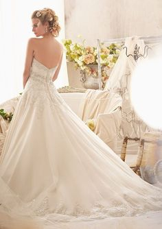 Mori Lee - 2609 - All Dressed Up, Bridal Gown - Morilee - Chattanooga TN's All Dressed Up Bridal Shop / Bridal Boutique offers Wedding Gowns, Prom Dresses & Tuxedo Rentals