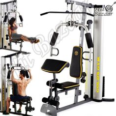 Only one left Dont wait or you will lose out.  Gym System Strength Training Workout Equipment Home Exercise Machine  #ad