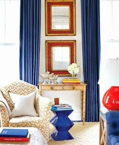 Home Decor: Rustic Red, White, and Blue | HAMPTONS STYLE