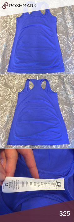 TWO Fabletics Oula tanks one in blue one pink MED Bought on posh but are too big for me. Selling both together for $25. Light pulling and a snag on the front of the blue one hit very small and hardly noticeable. Very stretchy material. My loss is your gain! Size mediums. Make an offer! Fabletics Tops Tank Tops