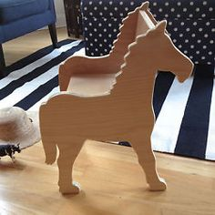 Paloma's Nest: Children's Pony Chair, for Playroom or Nursery