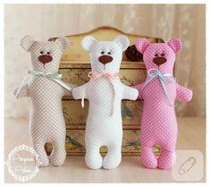 çocuklarınız için kumaş oyuncaklar yapmak istiyorsanız, adım adım yapım aşamalarını takip ederek bu oyuncak ayı dikiminden ilham alabilirsiniz, 10marifet.org'da