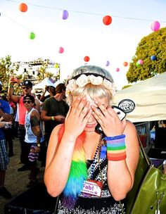 Lina in L.A. -- The Faces of L.A. Pride
