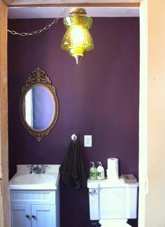 1000 images about f rger inredning on pinterest dark for Aubergine bathroom ideas