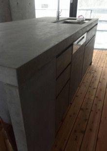 モールテックス増殖中!|中屋敷左官工業(株) Outdoor Furniture, Outdoor Decor, Outdoor Storage, My House, Kitchen Island, Kitchen Design, How To Plan, Home Decor, Handmade