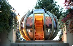 Mars Lab will be distributing G-PODs originally designed in the UK and they spin if you want them to.