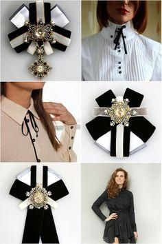 "ann braginsky - ""Google"" paieška Ribbon Jewelry, Ribbon Art, Ribbon Bows, Beaded Jewelry, Brooch Corsage, Women Bow Tie, Modesty Fashion, Beaded Brooch, Brooches Handmade"