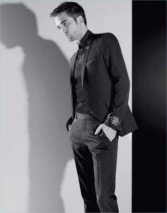 Actor Robert Pattinson stars in Dior Homme's fall-winter 2018 campaign.