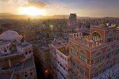 Stock Image of The Old City of Sanaa - Yemen