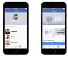 Ahora podremos crear videos de agradecimiento para nuestros amigos en #Facebook con #SayThanks.