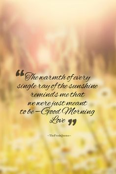 Romantic Good Morning Love Quotes & Wishes