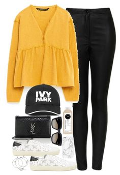"""""""Untitled #2048"""" by roxy-camarena on Polyvore featuring Topshop, Zara, Ivy Park and Yves Saint Laurent"""