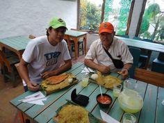 Un delicioso almuerzo en Salento, Quindío