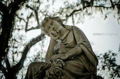 Bonaventure Cemetery - Savannah, GA | Photo by Sonia Doneghue for High Voltage Photography