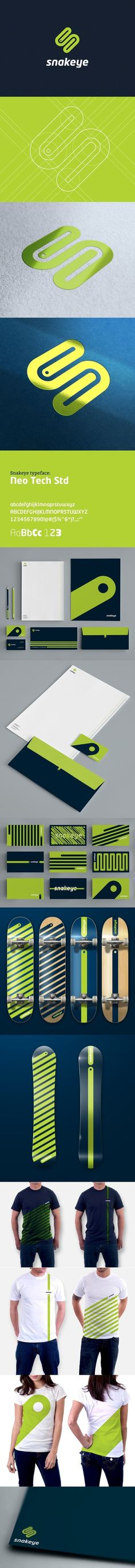 Snake eye identiry Design - Branding | timms brand design | Scoop.it