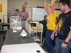 Sail contest - More active learning through engineering education is finding its way into elementary and middle school classrooms in metropolitan Phoenix through an Arizona State University effort to provide young students a deeper comprehension of the mathematical and technological concepts that form the foundations of science and engineering.