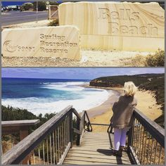 Have always wanted to see #bellsbeach #beautiful #torquay #greatoceanroad #greatoceanroadtrip #bucketlist #2weeksago by weezyg123 http://ift.tt/1KnoFsa