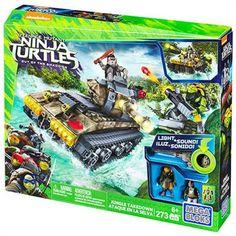 Mega Bloks Ninja Kaplumbağalar Jungle Battle Scene
