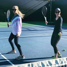 It's never too late to learn a new trick? I had my first tennis lesson this morning because I've always wanted to know how to play tennis… #LearningtoPlayTennis #therulesoftennis