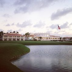 A beautiful shot of Trump Doral at dusk, taken by Ivanka Trump during a recent visit.