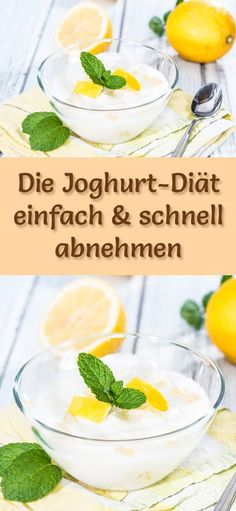 Super einfache und schnelle Joghurt-Diät mit nur 543 kcal/Tag - eine gesunde Low Fat und Low Carb Eiweiß-Diät zum Abnehmen ...
