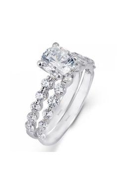 Simon G Engagement Rings MR1907 | Elizabeth Diamond Company