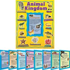 Animal Kingdom 10-in-1 Poster / Anchor Chart Set