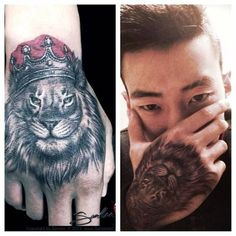 Jay Park gets lion tattoo on hand?   Kpopselca