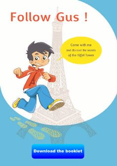 Discover the Eiffel Tower guided by little Gus. Children set off to discover the 12 topics* relating to the Eiffel Tower, presented in the form of short, illustrated texts. Teaching Strategies, Learning Resources, Book Activities, Teaching Ideas, Tour Eiffel, Paris Travel, France Travel, Paris Canal, France For Kids