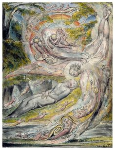 Milton's Mysterious Dream - 1820, William Blake.