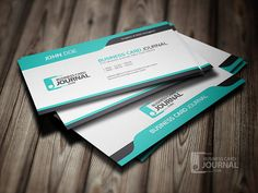 Cool Blue Creative Business Card Template | Flickr – 相片分享!
