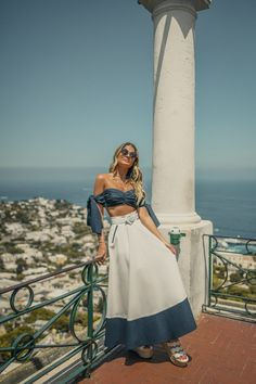 Unique Outfits, Girly Outfits, Classy Outfits, Beach Party Outfits, Summer Outfits, Summer Dresses, Look Fashion, Fashion Outfits, Capri Outfits