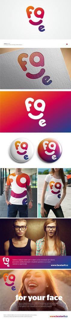 """Check out new work on my @Behance portfolio: """"Logotype FaceTarif"""" http://on.be.net/1LZ3rfb"""