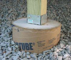 concrete pier foundation | Building on piers & pressure treated posts, or just concrete piers ...