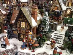 deuxième prix my Christmas village 2013