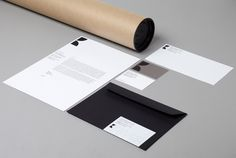Logo and stationery design by Studio Hi Ho for Melbourne-based architecture and interior design firm K2LD