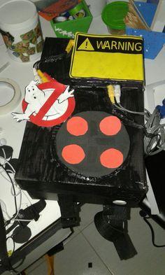 Decoração ou brinquedo para crianças caça fantasmas