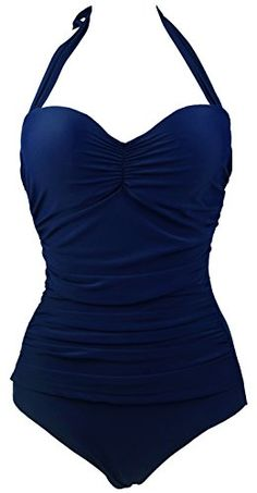 Cocoship 50s Solid Navy Blue Elegant Bathing Vintage One Piece Swimwear Swimsuit XL(FBA) COCOSHIP http://www.amazon.com/dp/B00RTFUK8Q/ref=cm_sw_r_pi_dp_rFj6ub1HMD8CF